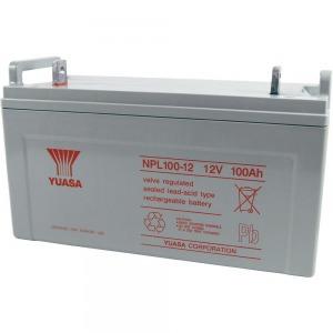 YUASA zselés akkumulátor, 12 V 100 Ah, 10 év