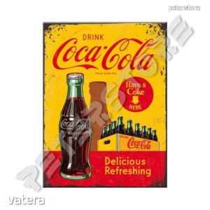 Fém Hűtőmágnes - Coca-Cola - 900 Ft Kép
