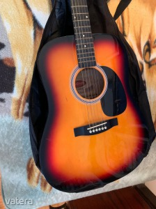 STAGG HANDMADE WESTERN GUITAR SW201SB ACOUSTIC GUITAR