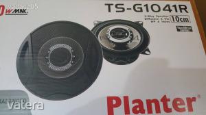 180W kétutas autós hangszóró pár – 100 mm
