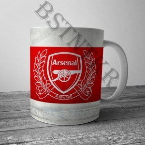 Arsenal mintás bögre