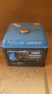 Inverteres áramfejlesztő ISG 1200 ECO Aggregátor 1ft nmá