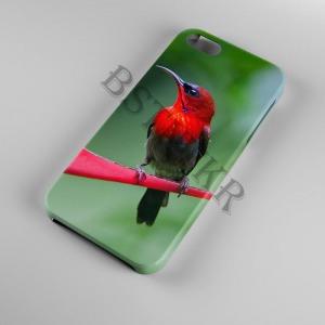 madár mintás Samsung Galaxy A50 tok hátlap tartó
