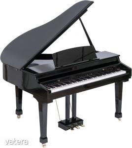 Orla - Grand 500 Fekete digitális zongora ajándék fejhallgatóval