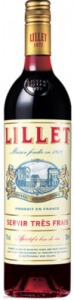 Lillet Rouge Red francia vermut 0,75L 17%