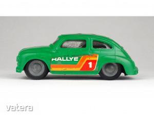 1B555 Régi lemezárugyári lendület autó zöld rallye Zastava