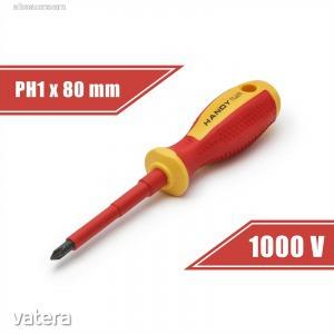 Csavarhúzó PH1x4,5x80 mm szigetelt  (10567)