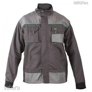 Munkaruha munkás kéttónusú kabát dzseki 8 méret multifunkciós zseb rugalmas mandzsetta