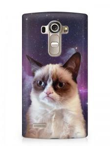 Grumpy Cat mintás LG G3 tok hátlap