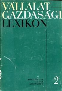 Vállalatgazdasági lexikon 2 L-Z