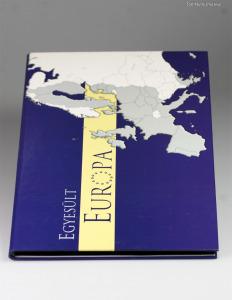 Egyesült Európa Málta 100 Líra 2004 kollekció gyűjtői albumban
