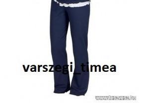 Star Collecion kék pizsama nadrág 40/42 AKCIÓ!