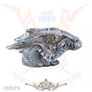 Dragon with tealight . mécses tartó