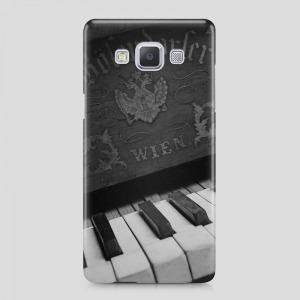 zongora mintás Samsung Galaxy A3 (2015) tok