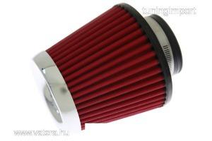 levegőszűrő  SIMOTA JAU-X02105-05 60-77mm Piros