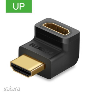 Ugreen HDMI csatlakozó adapter - felfele néző toldat - KÉSZLETRŐL! - 1490 Ft - Vatera.hu Kép