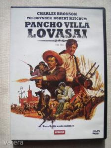 Pancho villa lovasai - DVD -Fsz:Charles Bronson-Yul Brinner-Robert Mitchum.