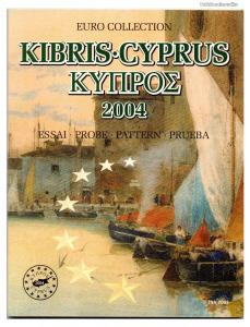 Ciprus Euro Forgalmi sor 2004 Próba tervezet