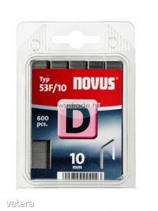 Novus tűzőkapcsok, lapos D 53 F 10 mm 600 db