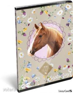 Lovas füzet A/5, 32 lap szótár Wild Beauty Nice