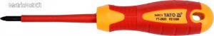 Yato 2825 Szigetelt csavarhúzó 1000V PZ1X80 mm YT-2825