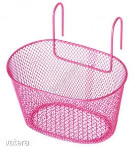 Első kosár gyerek kerékpárra rózsaszín 50054