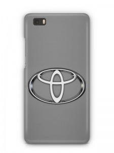 Toyota mintás Huawei P8 tok hátlap