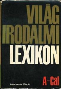 : Világirodalmi lexikon 1. A-Cal
