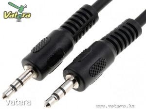 Audio kábel: mind2 végén 3.5mm Jack dugó, 5m