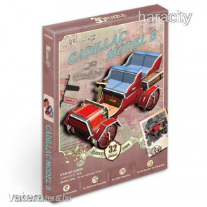 Cubicfun 3D Puzzle - Oldtimer Autó N.3 (32db-os)
