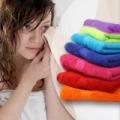 7 részes pamut törölköző szett - 3 különböző méret, vidám színek!