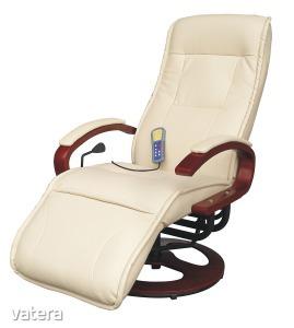 ARTUS 2 relax-masszázs fotel, bézs