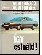 Audi Javítási kézikönyv, audi 100/200 1982-1990-ig