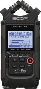 Zoom - H4n Pro Fekete Digitális rögzítő