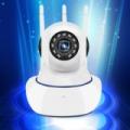 Mobiltelefonról működtethető vezeték nélküli 3 antennás WiFi IP kamera