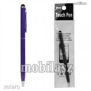 Érintőképernyő ceruza / golyós toll - purple / lila