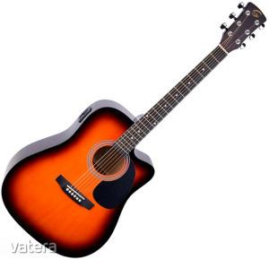 Soundsation - Yosemite-DNCE-SB akusztikus gitár elektronikával Sunburst