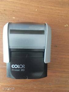 Colop Printer 20 használt bélyegzőház új kék párnával (működik)