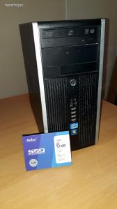 HP i5 SZÁMÍTÓGÉP + SSD + WIN 10 + OFFICE + 1 ÉV GARANCIA + TOP ÁR!!!