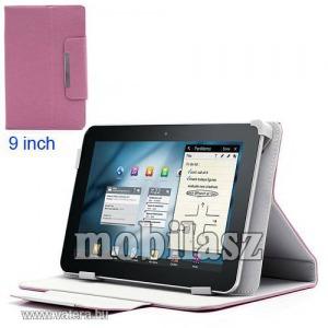 """Notesz / mappa tok - 9""""-os tablet pc méret, asztali tartó funkciós, oldalra nyíló flip, rejt..."""