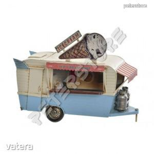 Fém modell, makett - Büfékocsi - Ice Cream, Fagyi