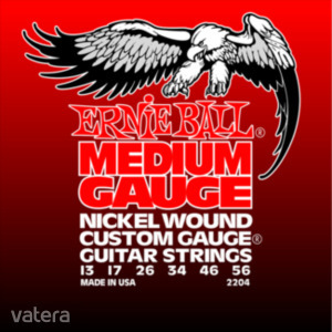 Ernie Ball - Nickel Wound Medium Wound G 13-56 Elektromos Gitárhúr készlet - 2430 Ft Kép