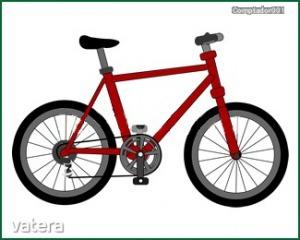 Vasalható ovisjel bicikli (2x2cm)