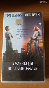 A Szerelem hullámhosszán    VHS !!!    Tom Hanks , Meg Ryan