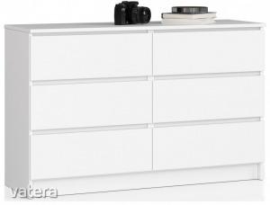Komód - Akord Furniture K120 - fehér