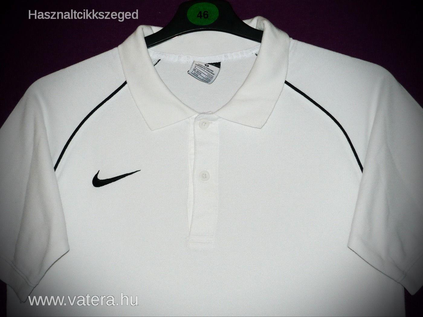 Nike DRI-FIT férfi fehér galléros póló S - 3500 Ft - (meghosszabbítva  3b2232bff3