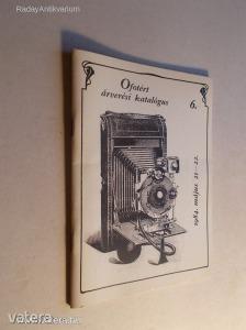 Ofotért árverési katalógus 6. (1984) (*KYP)
