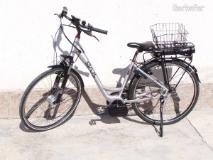 ÚJSZERŰ!!! FÉLÁRON!!!  Sinus e-bike 28-os Bosch motoros elektromos trekking bicikli kerékpár ebike