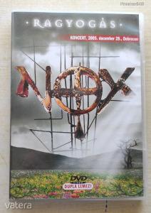 NOX Ragyogás koncert DVD (dedikált!)