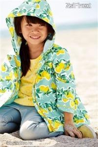 next citromos kabát 6-9 hó (74-es) ÚJSZ (0000)